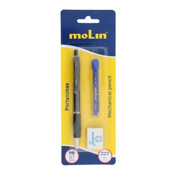 Molin Mechanical Pencil with Eraser & Refill