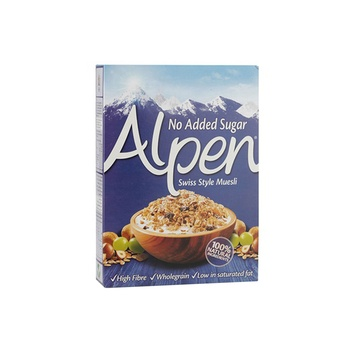 Alpen Muesli No Added sugar 560g 20%Off