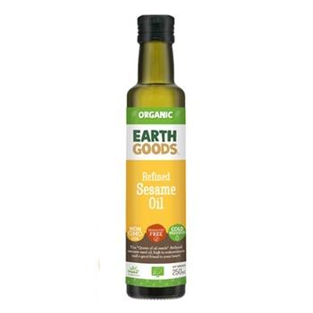 Earth Goods Org Refined Sesameseed Oil 250ml