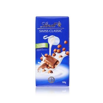 Lindt Milk Chocolate Hazelnut 100g