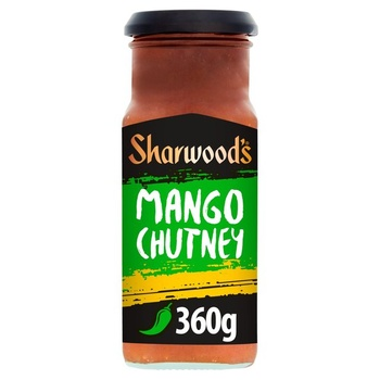 Sharwood's green label mango chutny 360g