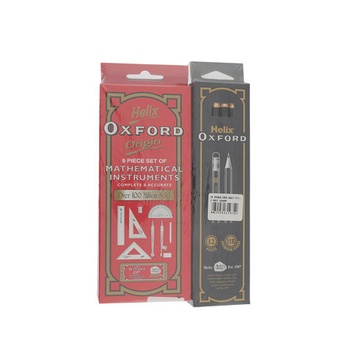 Oxford Math Set + Pencil Set 2 pc pack + Sharpener
