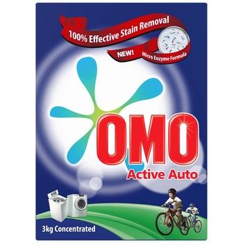 Omo Active Sa Auto 3kg