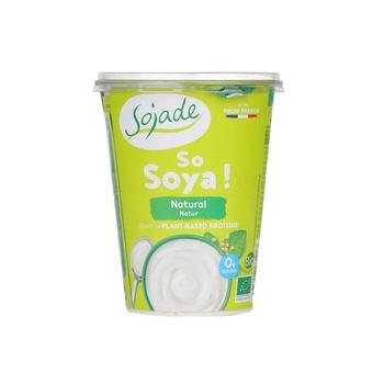 Sojade Organic Natural Soya Yoghurt 400g