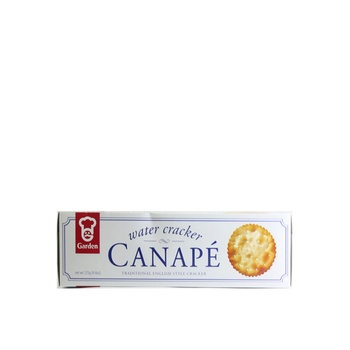 Garden Canape Water Crackers 125g