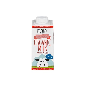 Koita Organic Low Fat Milk 200 ml