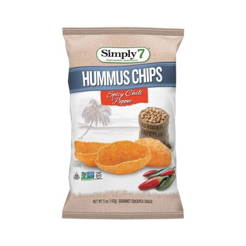 Simply7 Chips Hummus Spicy 2 X 5 oz