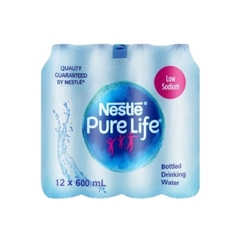 Nestle Pure Life Bottled Water 600Ml Pack Of 12