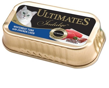 Ultimate Indulge White Meat Tuna with Chicken liver 85g