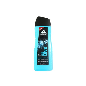 Adidas Hair & Body Shower Gel Ice Dive Marine Extract 400ml