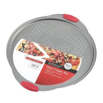 Chefs Pride Round Pizza Crisper Pan
