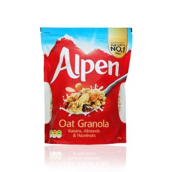 Alpen Oat Granola Raisin Almonds & Hazelnuts 450g
