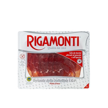 Rigamonti Bresaola Dry Cured Beef Topside 100g