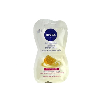 Nivea Nourishing Honey Mask Dry To Sensitive Skin 2 X 7.5 ml