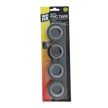 Maxifix Black Pvc Tape - 10 m