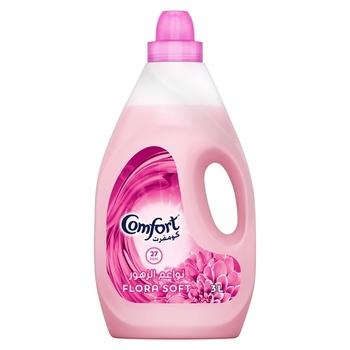 Comfort Fabric Softener Flora Soft 3ltr