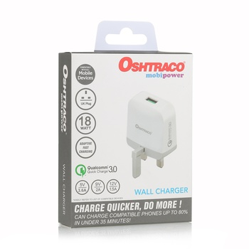 Oshtraco Quick Phone charger