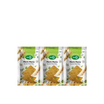 Shanta G Methi Mania Wheat Thins 150g