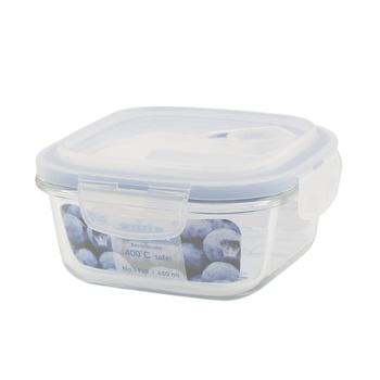 Borosilicate Glass Container 650ml