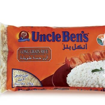 Uncle Bens Long Grain Rice 2kg