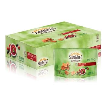 Sunbites Italian Mix Mini Crackers 18 x 40g