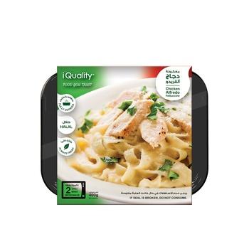iQuality Chicken Alfredo Fettuccini 400g