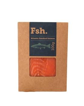 Atlantic Smoked Salmon 100g
