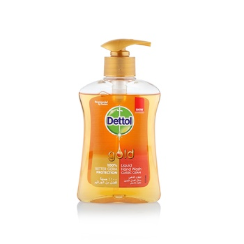Dettol Gold Anti-Bacterial Liquid Hand Wash Classic Clean 200ml