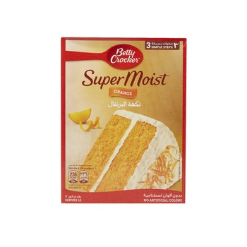 Betty Crocker Cake Mix Orange 500g