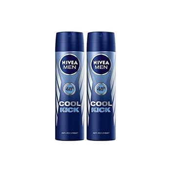 Nivea Men Cool Kick Deodorant Spray 150ml Pack Of 2