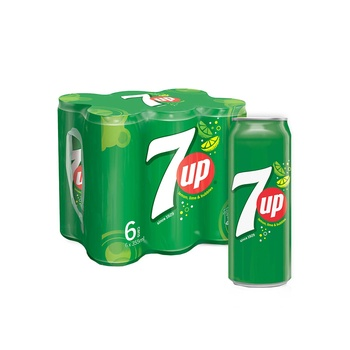 7 Up Can 6 x 355 ml