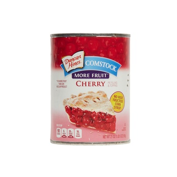 Comstock more fruit cherry pie filling and topping 21oz