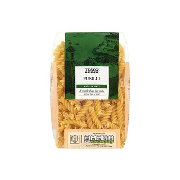 Tesco Fusilli Pasta Twists 500g