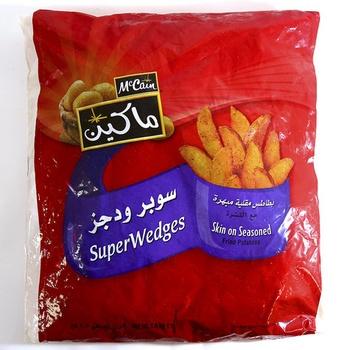 Mc Cain Skin On Seasoned Potato Wedges 1.5kg