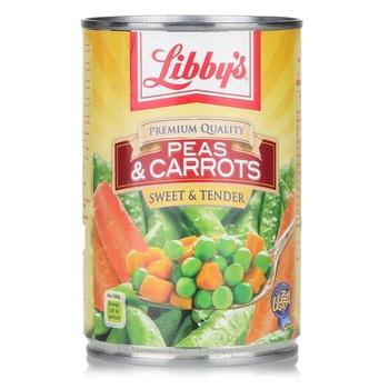 Libbys Peas & Carrots 425g