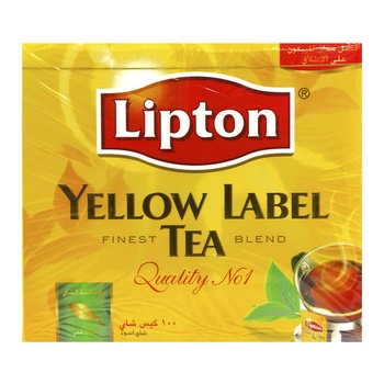 Lipton Yellow Label Tea Bag 100s