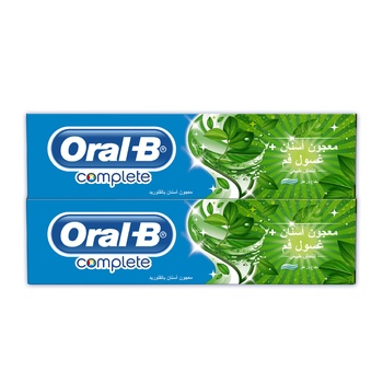 Oral B Complete Toothpaste 2 x 100 ml @ 25 % Off
