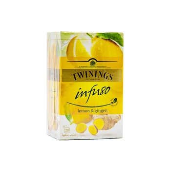 Twinings Infusions Lemon + Ginger 20s