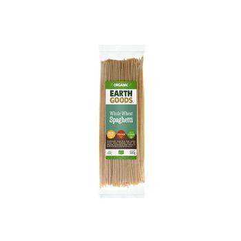 Earth Goods Organic Spaghetti Whole Wheat 500g