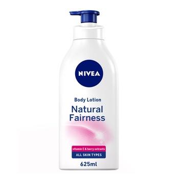 Nivea Care Body Lotion Natural Fairness Dry Skin 625ml
