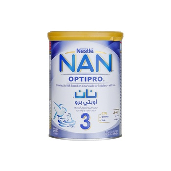 Nestle Nan 3 Optipro Growing Up Milk 400g Tin
