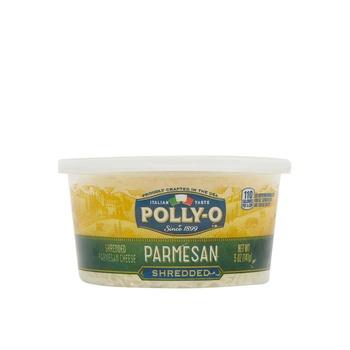 Polly O Shredded Parmesan Cup 5 Oz