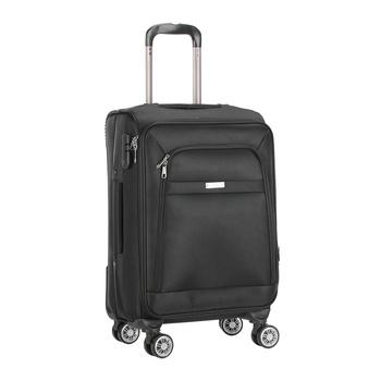 Voyager Trolley Bag  Black - 20 inch