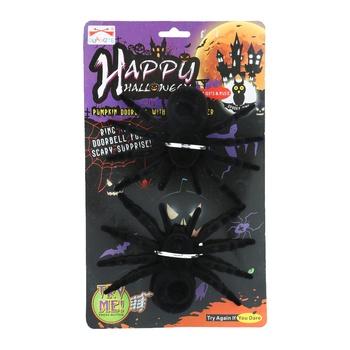Halloween Flocking Spider - 2 pcs