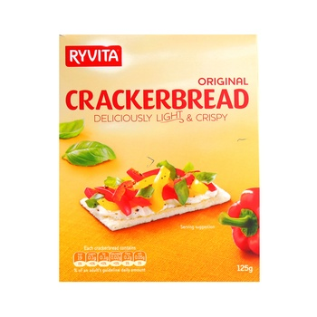 Ryvita Cracker Bread Original 125g
