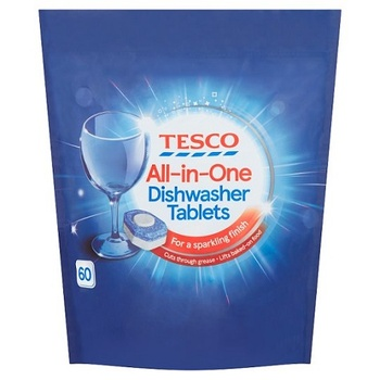 Tesco All In 1 Dishwasher Tablets Orginal 60s