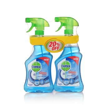 Dettol Glass Cleaner 2 x 500ml