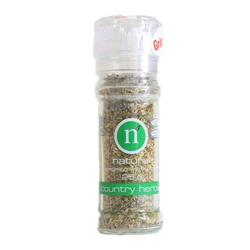 Natural Country Herb With Grinder 25g