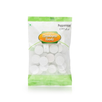 Goodness Foods Peppermint 100g