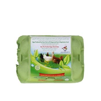 Eco & Vegetarian Fed Hen White Eggs 1 X 6pcs
